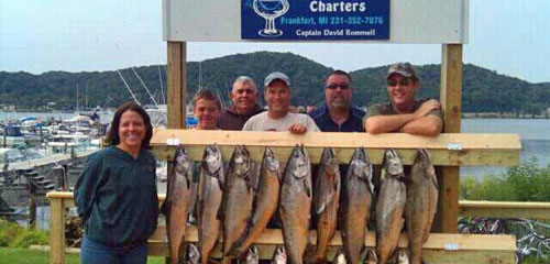 Northern Michigan Charter Fishing Tours