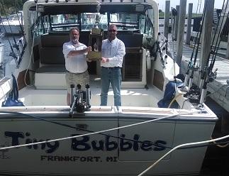 Lake Michigan Sport Fishing Frankfort Michigan